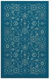 rug #1279823 |  blue-green traditional rug