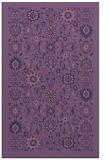 rug #1279867    blue-violet borders rug