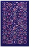 rug #1279871 |  blue-violet borders rug