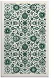 rug #1279907 |  green traditional rug