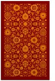 rug #1279983 |  orange traditional rug