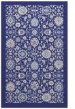 rug #1280071 |  blue damask rug