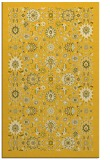 rug #1280091 |  yellow damask rug
