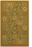 rug #1280103 |  yellow damask rug