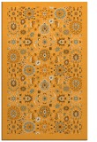 rug #1280131 |  light-orange damask rug