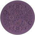 rug #1280235   round purple borders rug