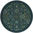 rug #1280271 | round green rug
