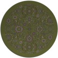 rug #1280280 | round damask rug