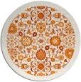 rug #1280355 | round orange borders rug