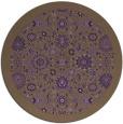 rug #1280391 | round purple borders rug
