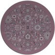 rug #1280398 | round damask rug