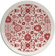 rug #1280407 | round red traditional rug