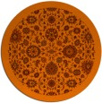 rug #1280415   round red-orange rug