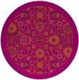 rug #1280426   round damask rug