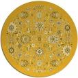rug #1280459 | round yellow borders rug