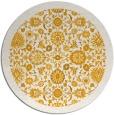 rug #1280495 | round light-orange damask rug
