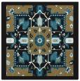 rug #1280903 | square brown borders rug
