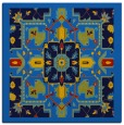 rug #1280907 | square blue borders rug