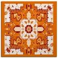 rug #1281091   square orange popular rug