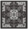 rug #1281099 | square orange damask rug