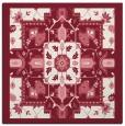 rug #1281107   square pink damask rug