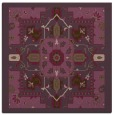 rug #1281119 | square purple borders rug