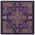rug #1281127 | square purple damask rug