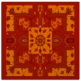 rug #1281139 | square red traditional rug