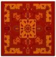 rug #1281139 | square orange popular rug