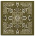 rug #1281227 | square light-green rug