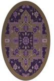 rug #1281496 | oval borders rug