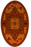 rug #1281519 | oval traditional rug