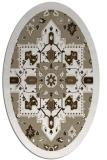 rug #1281559   oval white borders rug