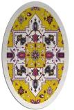 rug #1281572 | oval traditional rug