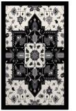rug #1281615 |  black damask rug