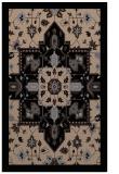 rug #1281623 |  beige damask rug