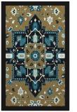 rug #1281639 |  black borders rug