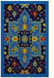 rug #1281643 |  blue borders rug