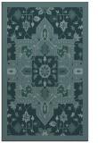 rug #1281683 |  blue-green borders rug