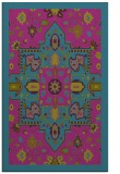rug #1281691 |  blue-green traditional rug