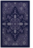 rug #1281695 |  blue-violet damask rug