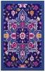 rug #1281711    blue-violet borders rug