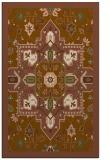 rug #1281763 |  brown traditional rug