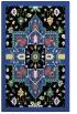rug #1281815 |  black damask rug