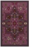 rug #1281855 |  purple borders rug