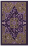 rug #1281863 |  mid-brown borders rug