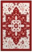 rug #1281879    red damask rug