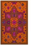 rug #1281895 |  red-orange borders rug