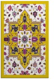 rug #1281939 |  yellow borders rug