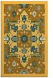 rug #1281943 |  yellow damask rug